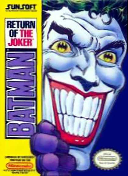 NES Games - Batman Return of the Joker