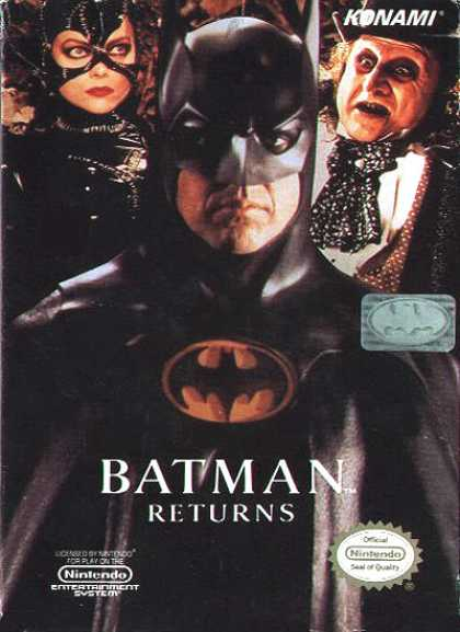 NES Games - Batman Returns