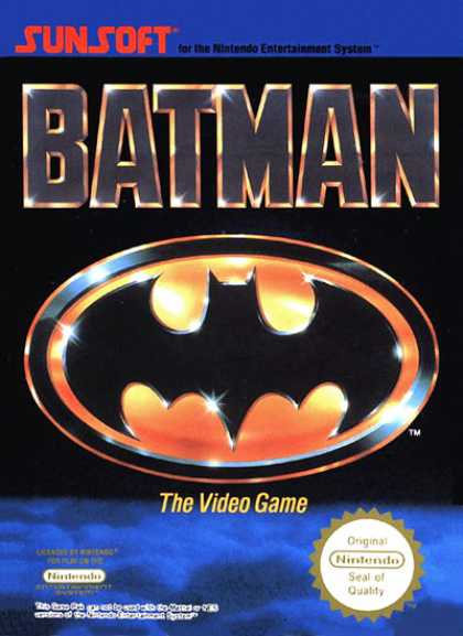 NES Games - Batman-E