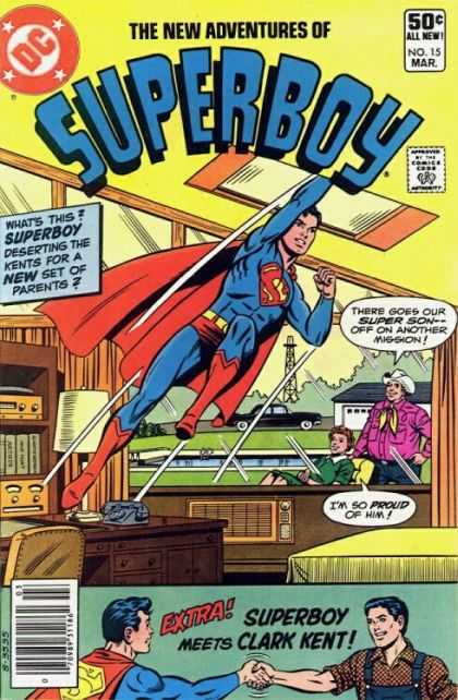 New Adventures of Superboy 15 - The Punch Of Superboy - Thje Zoom Adventures Of Superboy - The Powers Of Superboy - The Superboy Arise - The Great Friend Superboy