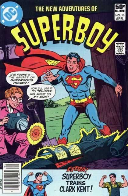 New Adventures of Superboy 16 - Super Man - Super Boy - Clark Kent - The New Adventures - Superboys Power