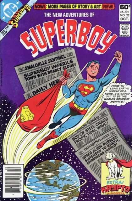 New Adventures of Superboy 22