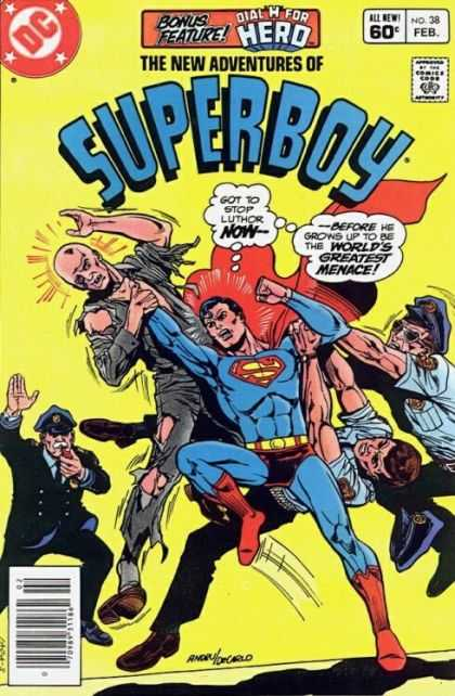 New Adventures of Superboy 38 - Ross Andru