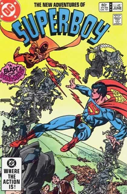 New Adventures of Superboy 42 - Superman - People - Battle - Flying - Action