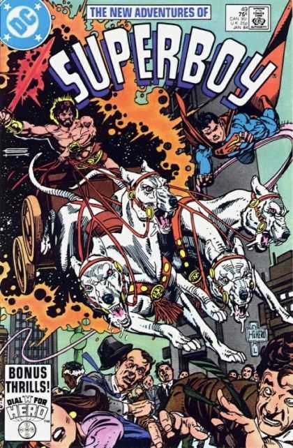 New Adventures of Superboy 49 - Dogs - Stars - Panic - Outerspace - Constellation