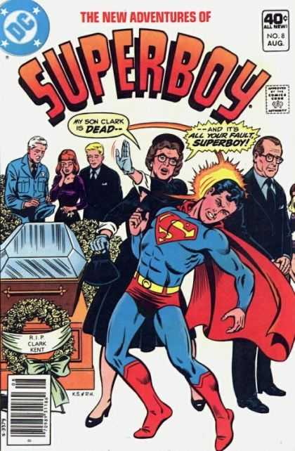 New Adventures of Superboy 8