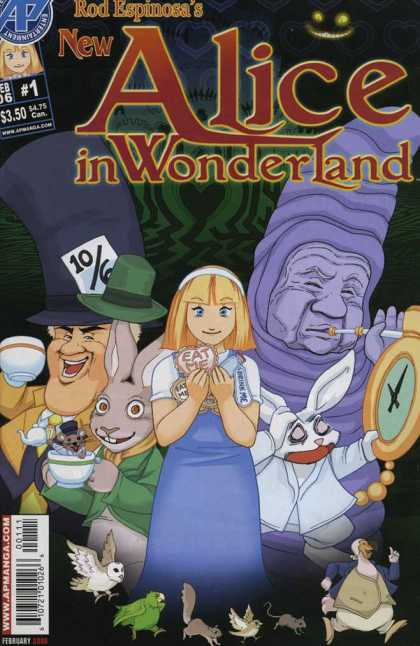 New Alice in Wonderland 1 - Rod Espinosa - Alice - Mad Hatter - White Rabbit - Eat Me
