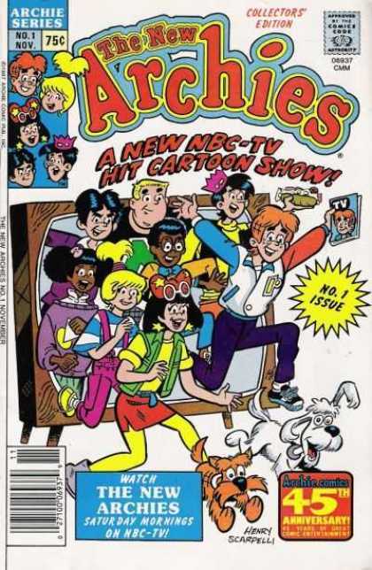 New Archies 1 - Kids - Television - Dogs - Teenagers - Fun