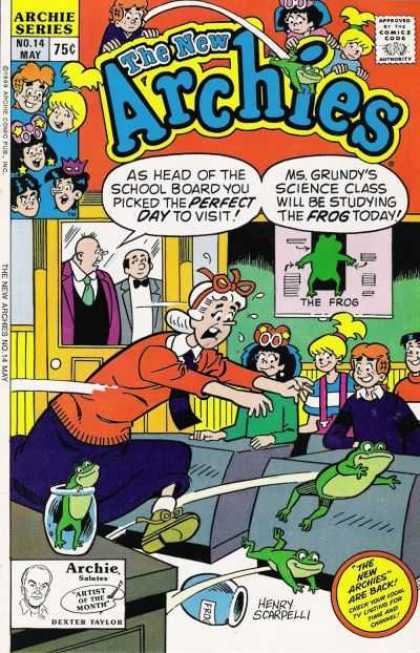 New Archies 14 - New Archies - Archie - Veronica - Betty - Ms Grundy