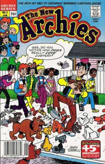 New Archies 2 - Jughead - Cola - Headphones - Sidewalk - Dogs