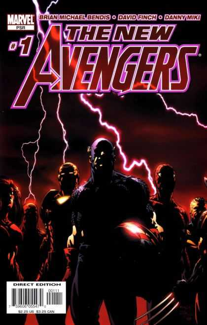 New Avengers 1 - Marvel - Brian Michael Bendis - David Finch - Danny Miki - Superheroes - David Finch
