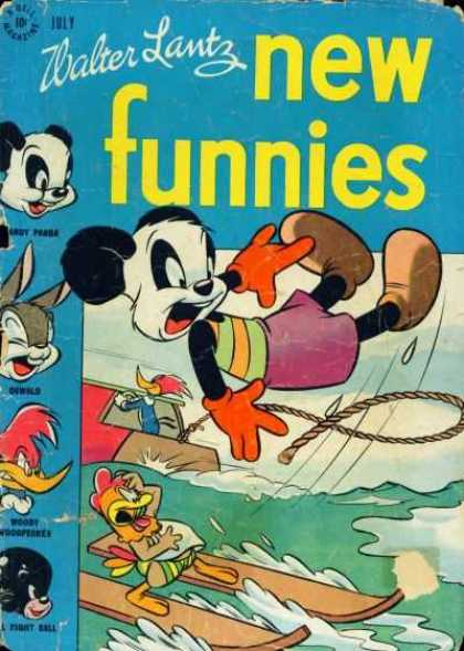 New Funnies 125 - July - Thread - Water Lantz - Water - Boats