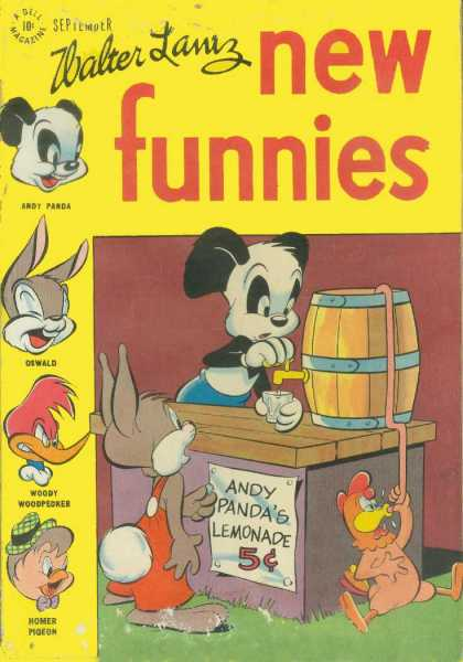 New Funnies 127 - Walter Lanz - Dewald - Woody - Andy Panda - Homer Pigeon