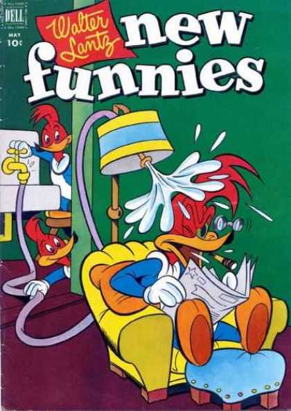 New Funnies 183 - New - Funnies - Walter - Lantz - Woody
