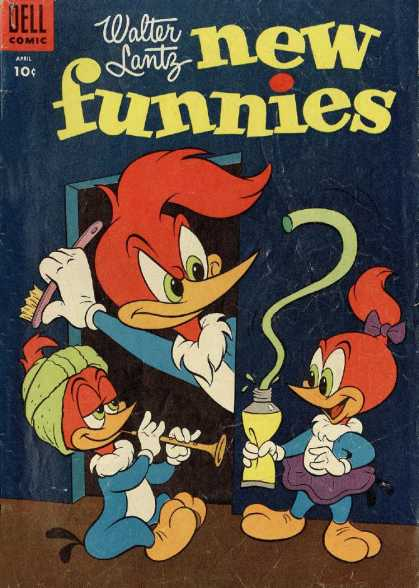 New Funnies 218 - Woodpecker - Snake Charmer - Toothpaste - Snake - Toothbrush