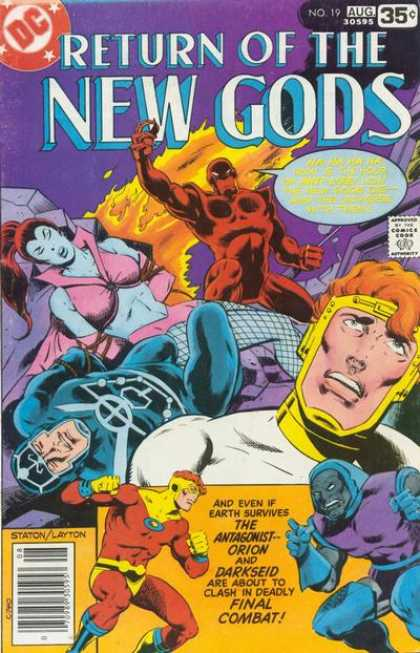 New Gods 19 - Return Of The - Fire - Orion - Darkseid - Final Combat