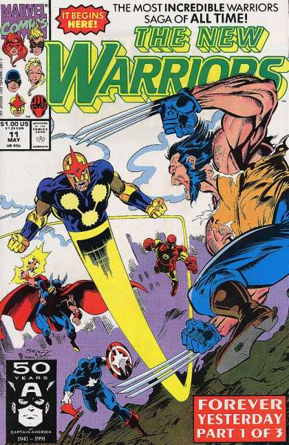 New Warriors 11 - Mark Bagley