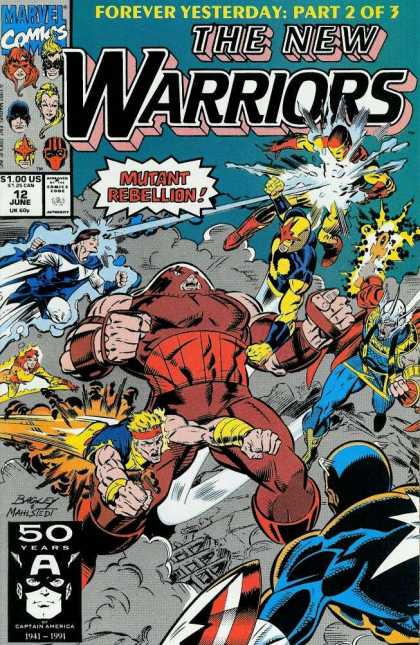 New Warriors 12 - Mark Bagley