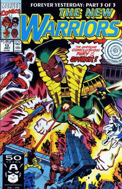 New Warriors 13 - Mark Bagley