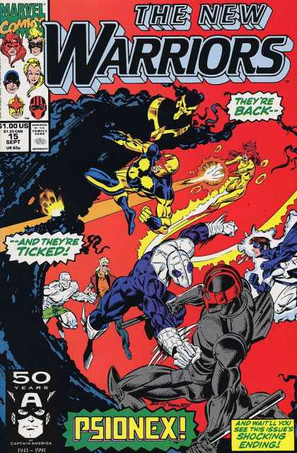 New Warriors 15 - Mark Bagley