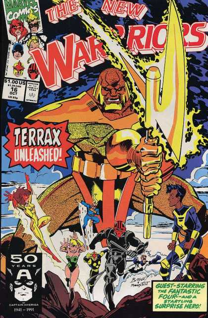 New Warriors 16 - Mark Bagley