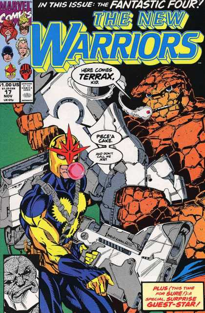 New Warriors 17 - Mark Bagley