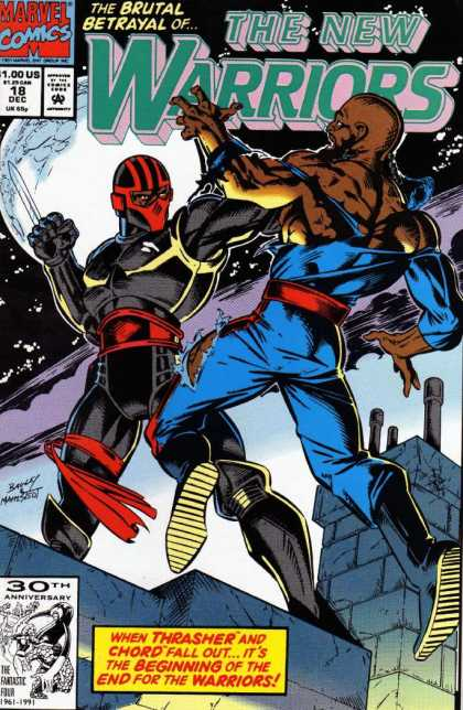 New Warriors 18 - Mark Bagley
