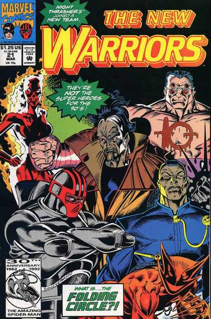 New Warriors 21 - Mark Bagley