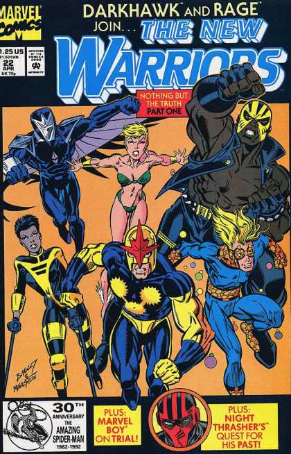 New Warriors 22 - Mark Bagley