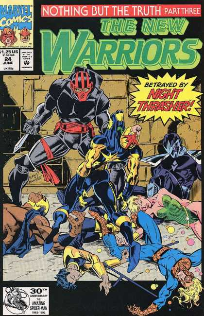 New Warriors 24 - Mark Bagley