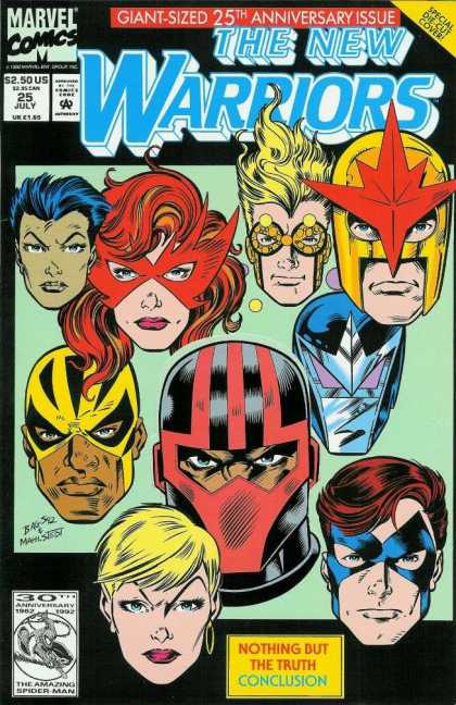New Warriors 25 - Mark Bagley