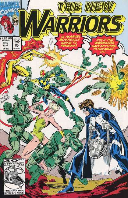 New Warriors 26 - Mark Bagley