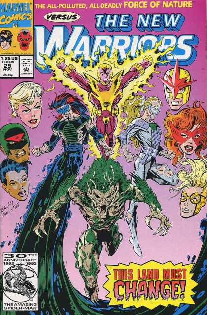 New Warriors 29 - Mark Bagley