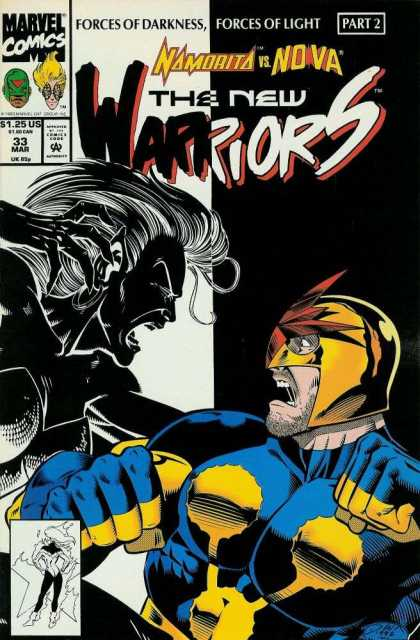 New Warriors 33 - Darick Robertson