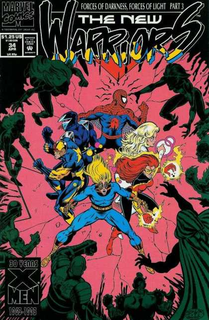 New Warriors 34 - Darick Robertson