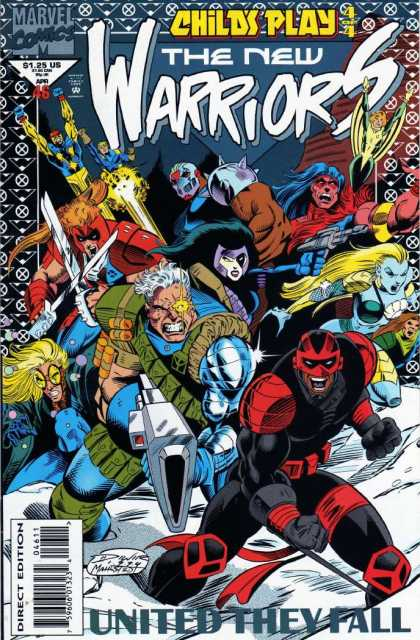 New Warriors 46 - Darick Robertson