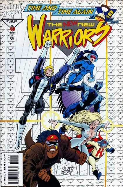 New Warriors 49 - Darick Robertson