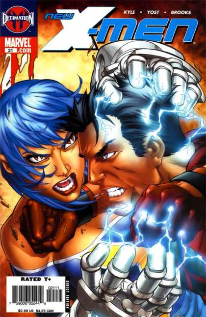 New X-Men 21 - Jaime Mendoza, Mark Brooks