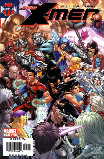 New X-Men 22 - Jaime Mendoza, Mark Brooks