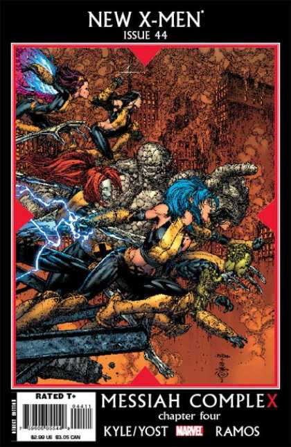 New X-Men 44 - David Finch