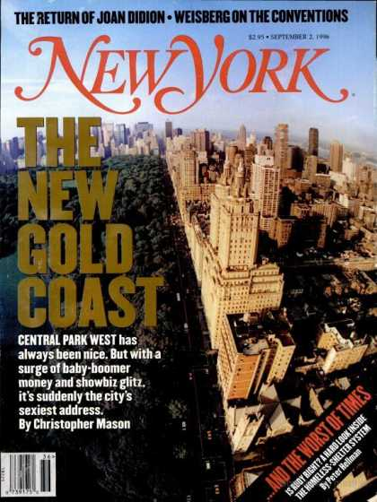 New York - New York - September 2, 1996