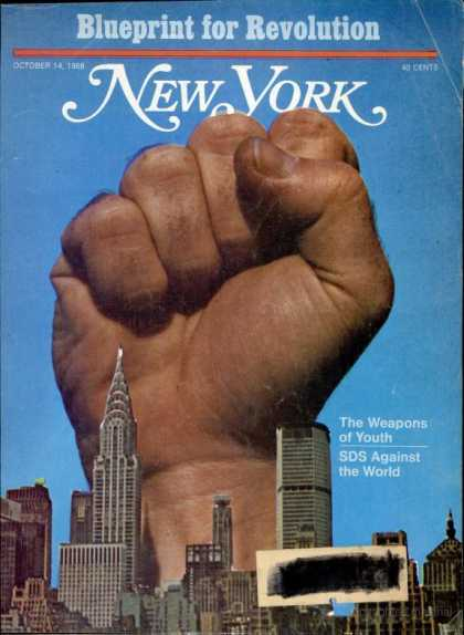 New York - New York - October 14, 1968