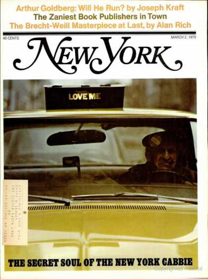 New York - New York - March 2, 1970