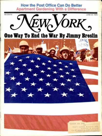 New York - New York - June 22, 1970