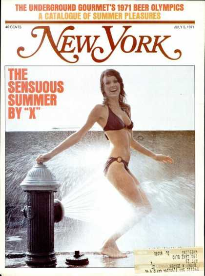 New York - New York - July 5, 1971