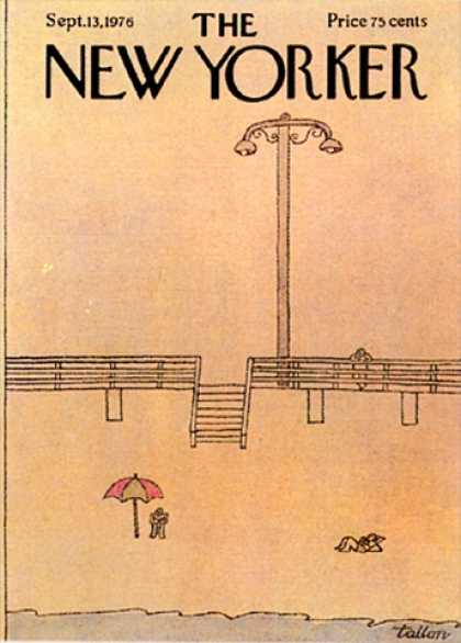 New Yorker 2577 - Umbrella - Beach - Boardwalk