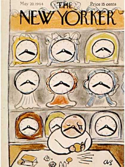 New Yorker 974 - Clocks