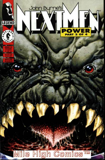 Next Men 24 - Teeth - Monster - John Burne - Dark Horse - Power