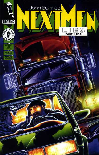 Next Men 27 - Dark - Night - Cars - Trucks - Lights
