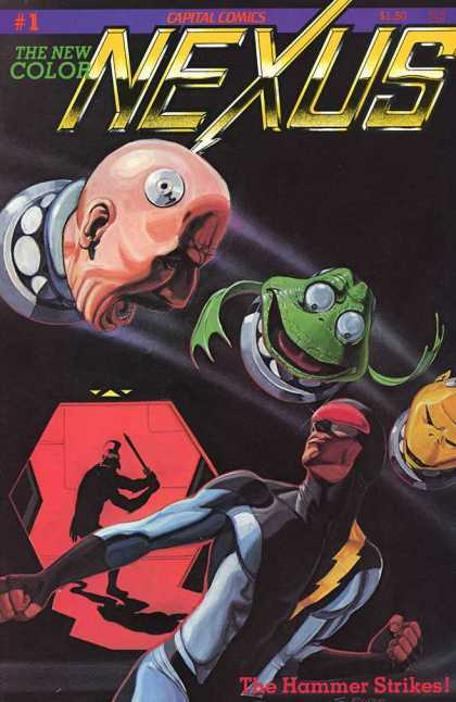 Nexus 1 - Frog - Capital - Comics - Space - Robots - Paul Gulacy, Steve Rude